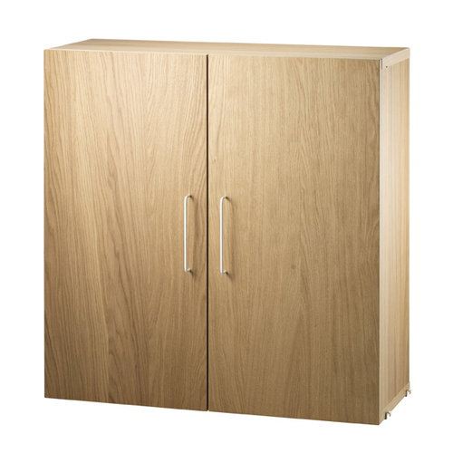 String String works, filing cabinet, oak