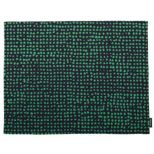 Marimekko Orkanen pinnoitettu tabletti, tummansininen - vihre�