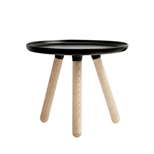 Normann Copenhagen Tablo table small, matt black