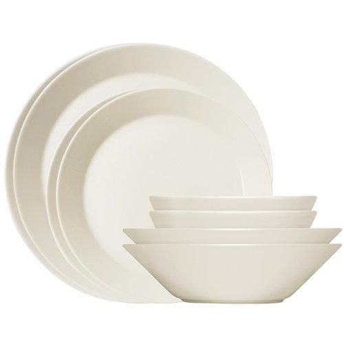 Iittala Teema starter set 16 pcs, white
