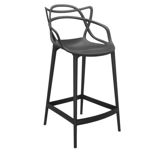 Kartell Masters stool, black