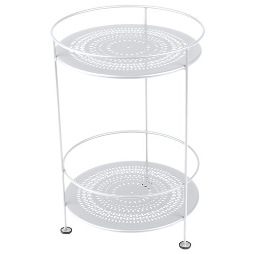 Fermob Gueridons table, cotton white