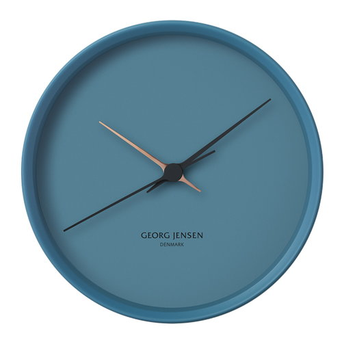 Georg Jensen HK Clock blue, large