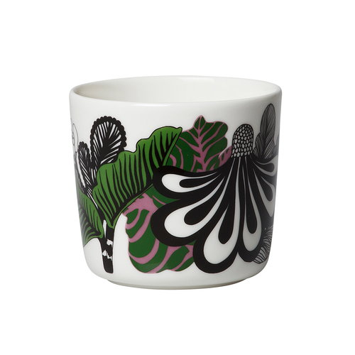 Marimekko Oiva - Kaalimets� coffee cup without handle, 2 pcs