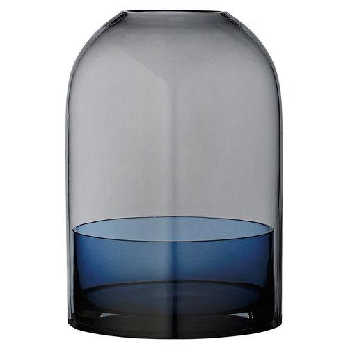 AYTM Tota kynttil�lyhty, musta - sininen