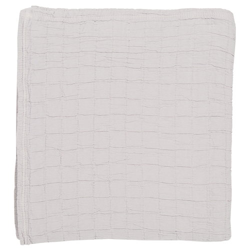 Matri Aava bed cover, light grey