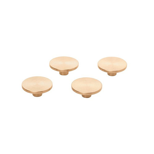 By Lassen Remind magnets, 4 pcs, brass