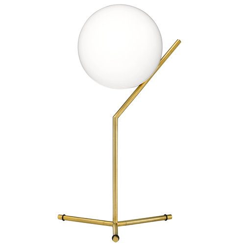 Flos Lampada da tavolo IC T1, alta, ottone