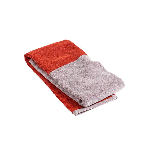 Hay Compose guest towel, red