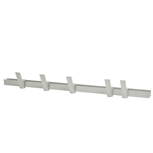 Hay Beam coat rack, light grey, 90 cm