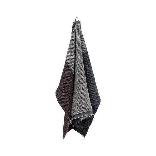 Lapuan Kankurit Terva hand towel, black-multi-brown