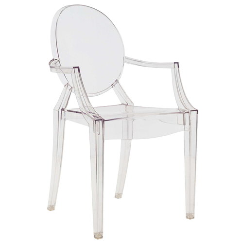 Kartell Louis Ghost chair, clear