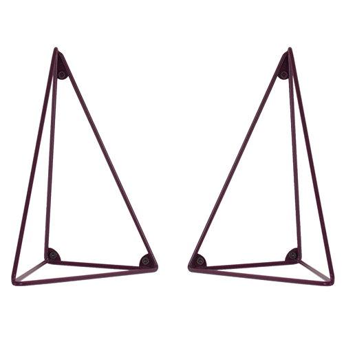 Maze Pythagoras brackets 2 pcs, bordeaux