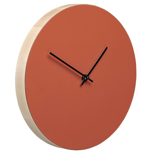 Muoto2 Kiekko wall clock, brick