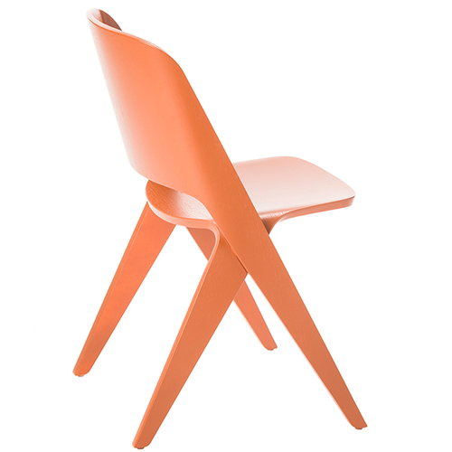 Poiat Lavitta chair, copper orange