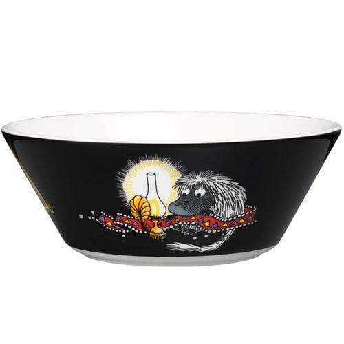 Arabia Moomin bowl, Ancestor, black