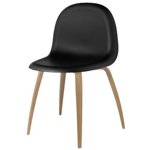 Gubi Gubi 5 chair, black-oak
