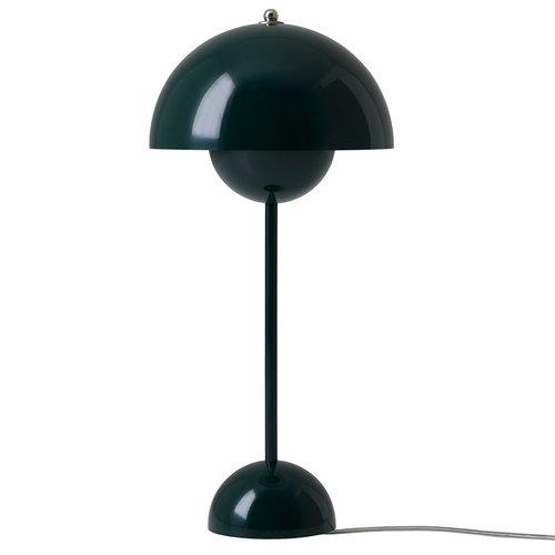 &Tradition FlowerPot VP3 table lamp, dark green