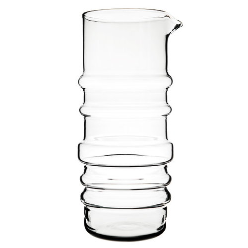 Marimekko Socks rolled down pitcher, clear