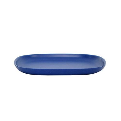 Ekobo BIOBU Gusto plate, M, royal blue