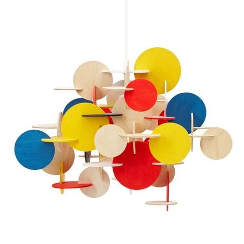Normann Copenhagen Lampada Bau piccola, multicolore