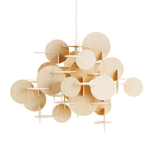 Normann Copenhagen Bau pendant, small, natural