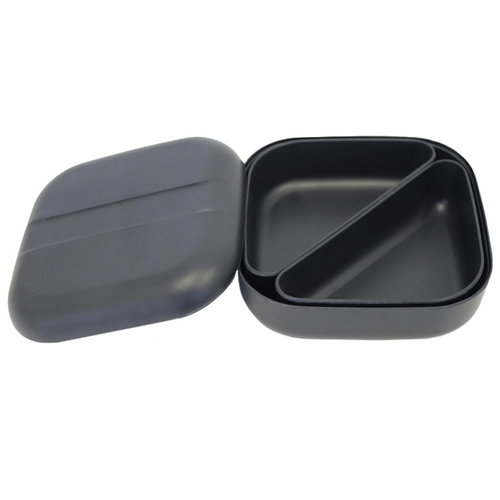 Ekobo BIOBU GO Bento lunch box, black
