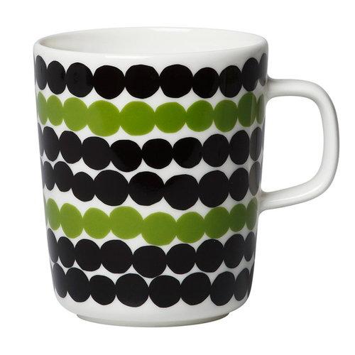 Marimekko Oiva - Siirtolapuutarha mug 2,5 dl, white-green-black