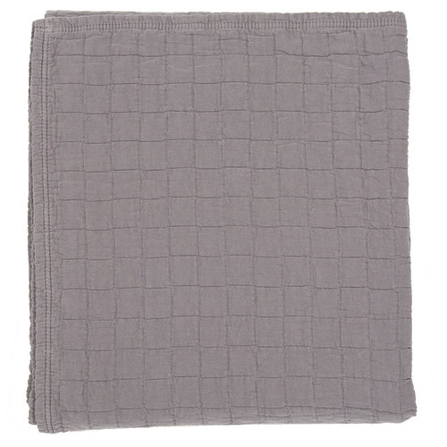Matri Aava double bed cover, dark grey