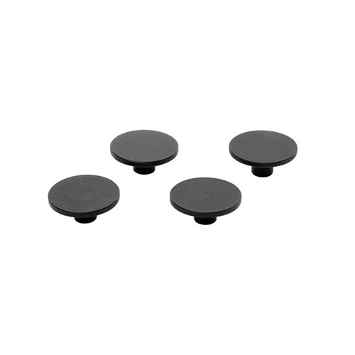 By Lassen Remind magnets, 4 pcs, black