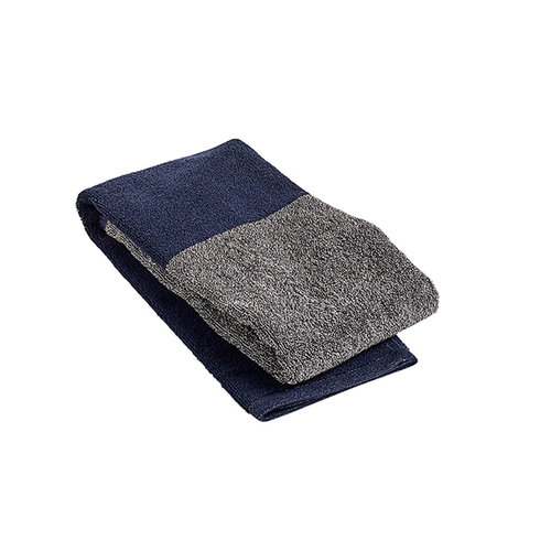 Hay Compose guest towel, navy blue