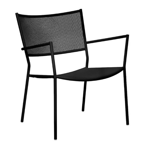 Massproductions Jig Mesh Easy chair, black
