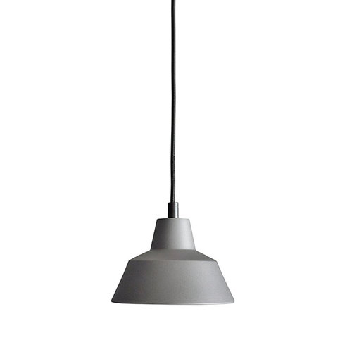 Made By Hand Workshop W1 pendant, anthracite grey