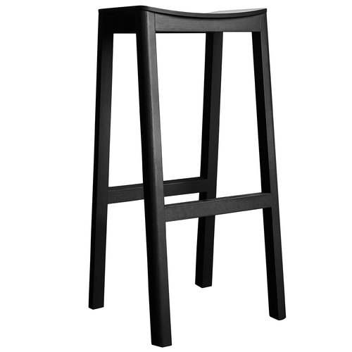 Made By Choice Halikko bar stool, 74 cm, black