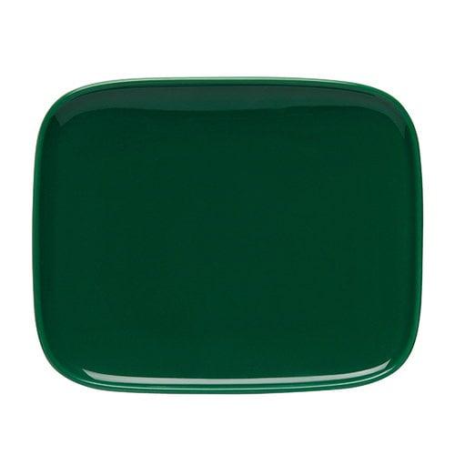 Marimekko Oiva lautanen, 15 x 12 cm, vihre�