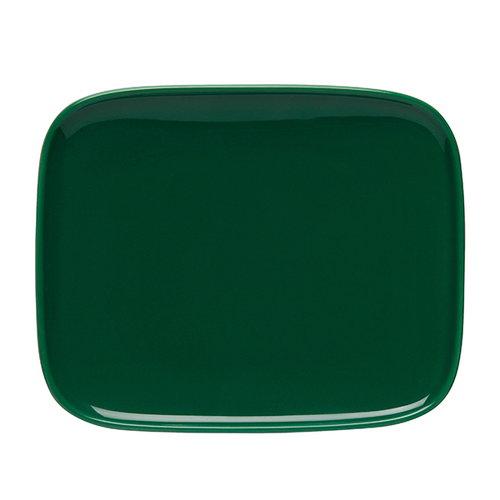Marimekko Oiva plate 15 x 12 cm, green