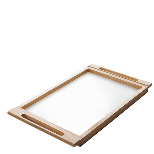 Nikari Arte Alvar tray, birch-white laminate
