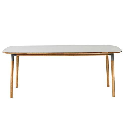 Normann Copenhagen Form table 200 x 95 cm, grey-oak