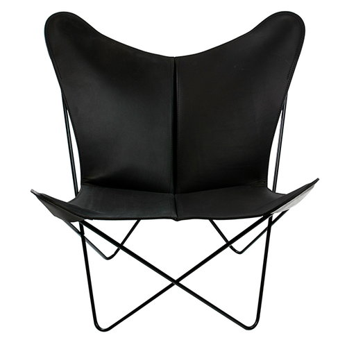 OX Denmarq Trifolium chair, black-black