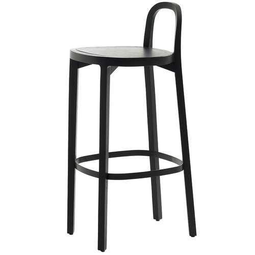 Woodnotes Siro+ bar stool 75 cm, black