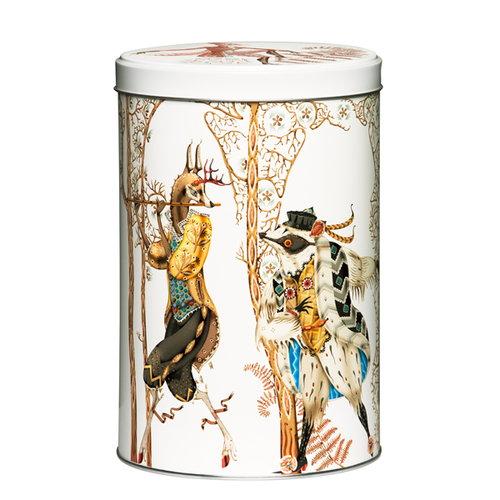 Iittala Tanssi tin box, white