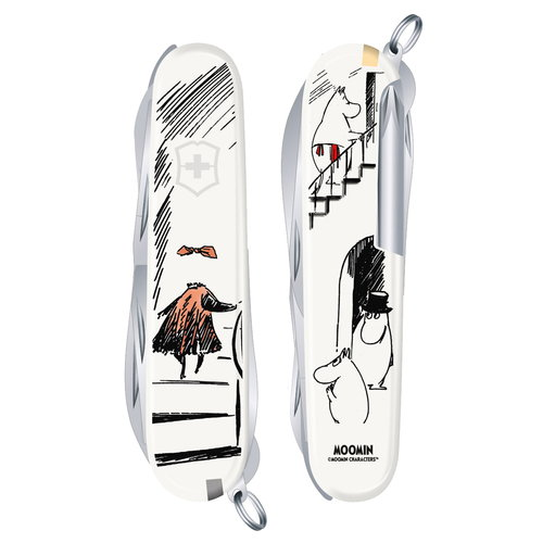 Victorinox Moomin pocket knife,  The Invisible Child