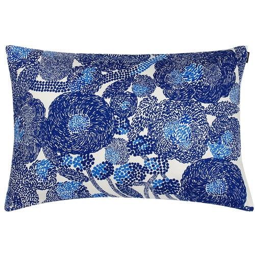 Marimekko Mynsteri cushion cover 40 x 60 cm, white - blue