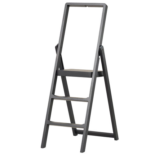 Design House Stockholm Step ladder, black stained oak