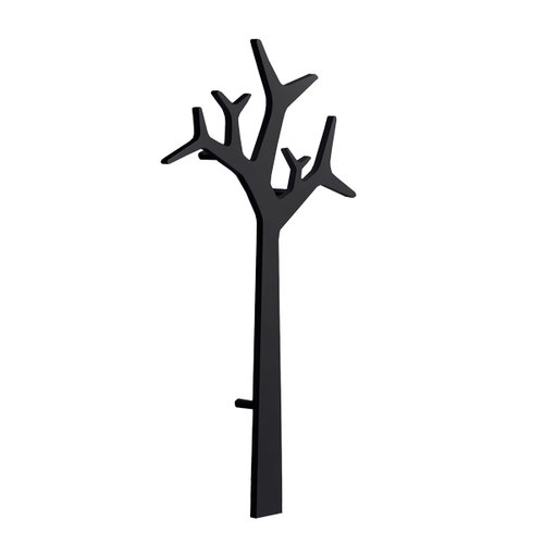 Swedese Tree wall coatrack 134 cm, black