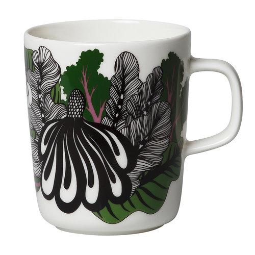 Marimekko Oiva - Kaalimets� mug 2,5 dl