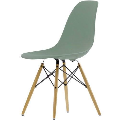 Vitra Eames DSW tuoli, moss grey - vaahtera