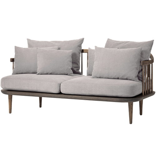 &Tradition Fly SC2 sohva, savustettu tammi - Hot Madison 094