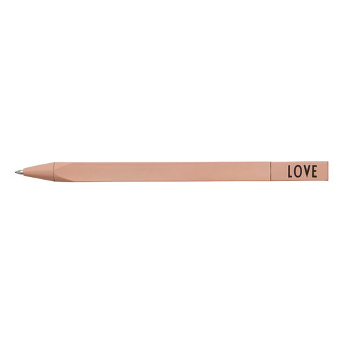 Design Letters Mechanical pen Love, pink