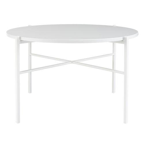 Hakola Round sohvapöytä 70 cm, valkoinen
